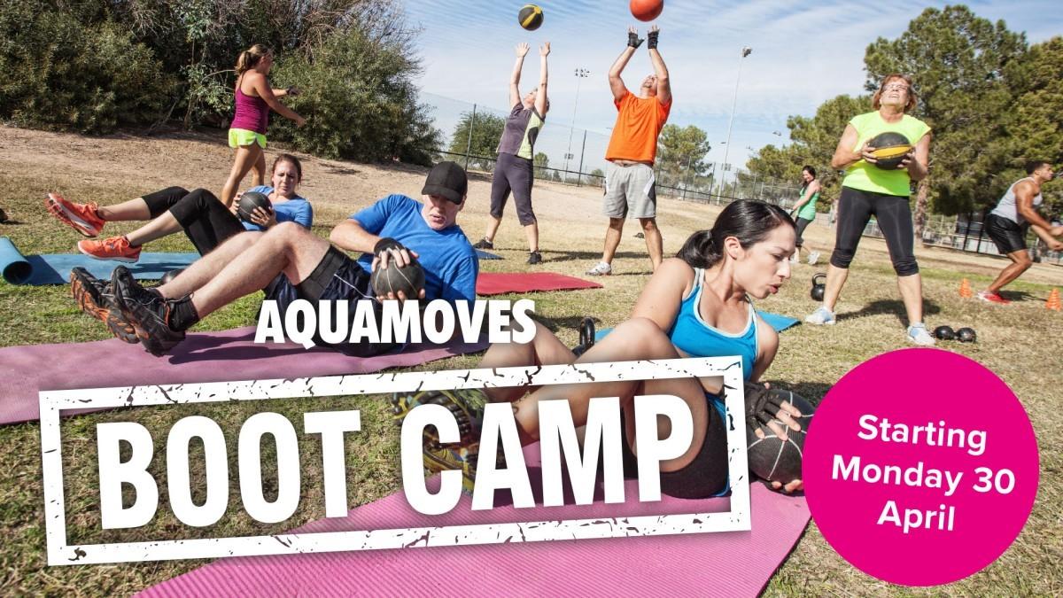 Aquamoves Boot Camp - TV and Social Media - April 2018