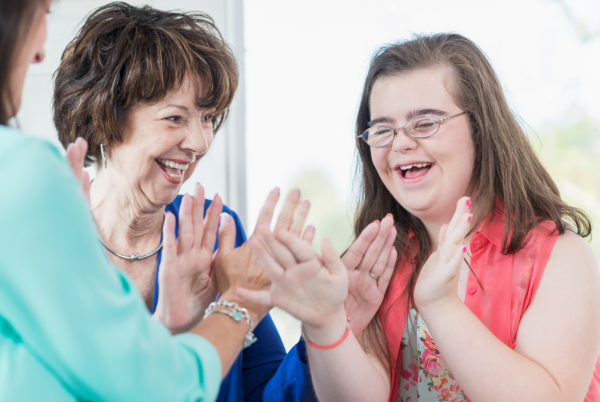 Happy Steps encourages those with disabilities to get active and have fun.