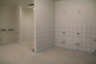 Dry Area Change Room - Aquamoves - October 2015