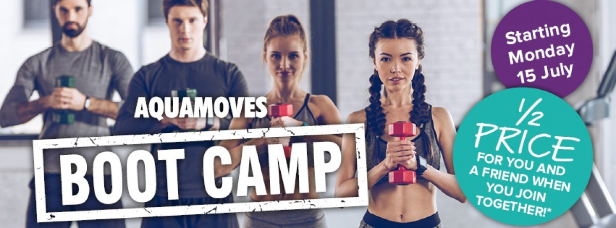 Aquamoves Boot Camp facebook - July 2019