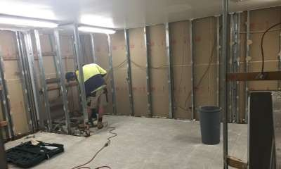 Dry area change rooms gutted