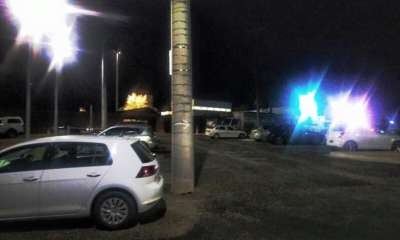New car park lights installed