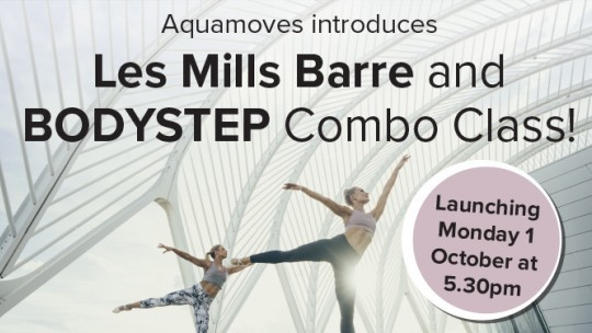 Les Mills BARRE is coming to Aquamoves