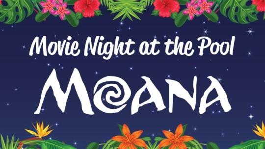 Movie Night at the Pool