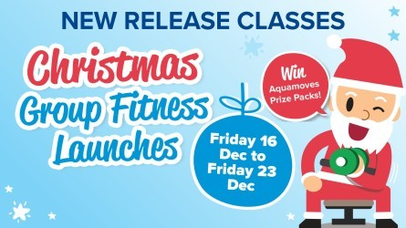 Christmas Group Fitness Launches