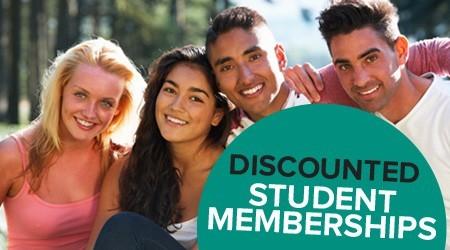 Discounted Student Memberships