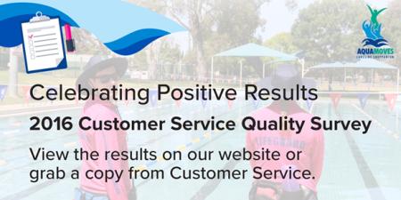 2016 Customer Service Quality Survey Results