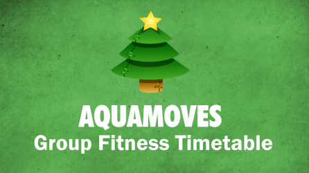 Christmas/New Years Group Fitness Timetable