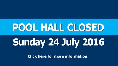 Pool Hall closed this Sunday
