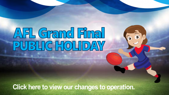 AFL Public Holiday Hours and Group Fitness Schedule