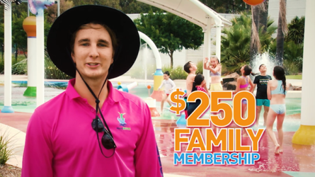 Summer Family Pool Memberships