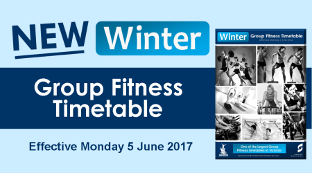 Winter Group Fitness Timetable