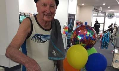 90 years old and still coming to the gym daily!