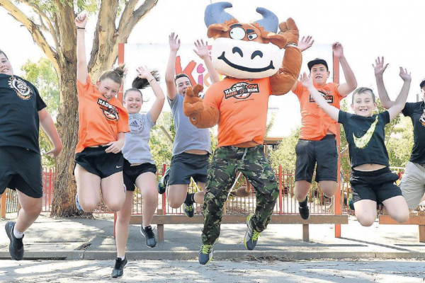 Mad Cow Mud Run - Picture from The Shepparton News - Wednesday 22 February 2017
