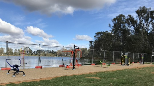 Outdoor Fitness Equipment to get you mooving