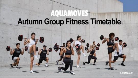 Autumn Group Fitness Timetable