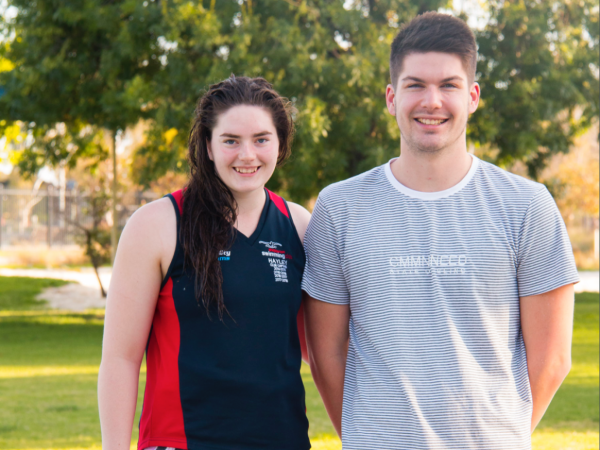 Aquamoves team members Hayley Hogan and Brennan Swift enjoyed great success in the pool at the 2018 Victorian Country Long Course Swimming Championships.
