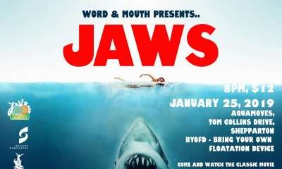 Word and Mouth presents: Dive-In Movie – Jaws!