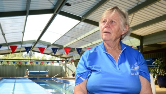 Willy O'Callaghan recognised for 60 years of Shepparton swimming