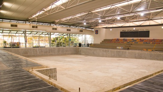 A major refresh for Aquamoves' 25m indoor pool