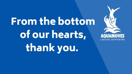 Thank you, from the bottom of our hearts