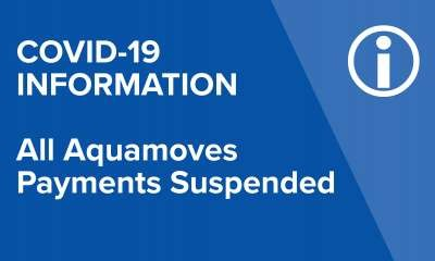 All Aquamoves payments suspended indefinitely