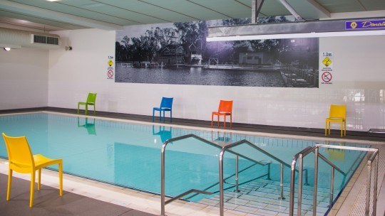 Hydrotherapy Pool opens Monday!