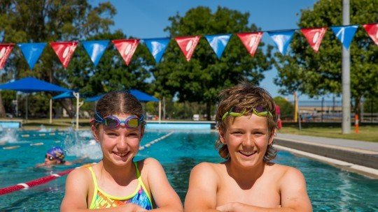 Outdoor recreational swimming returns to Aquamoves from tomorrow