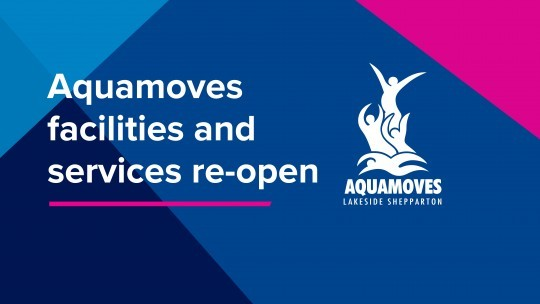 Re-opening of Aquamoves facilities and services