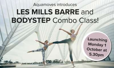 LES MILLS BARRE and BODYSTEP Combo Class