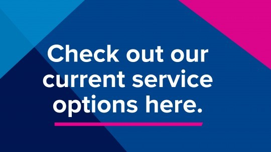 View the current facilities and services available.