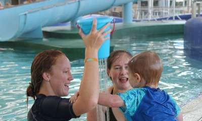 Places available in current term of swimming lessons