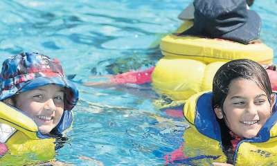 Valuable water skills learnt