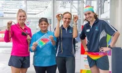 Zaidee's Rainbow Week at Aquamoves!