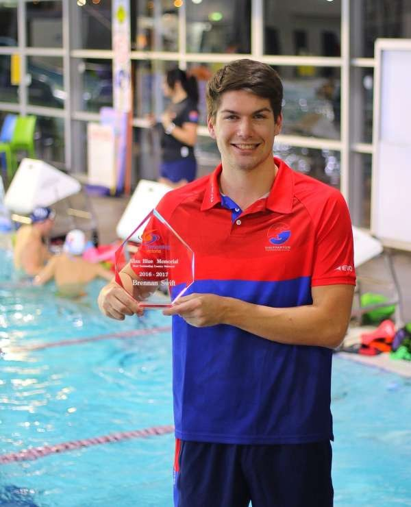 Shepparton swimmer Brennan Swift has been acknowledged for his fast times in the water over the last twelve months.