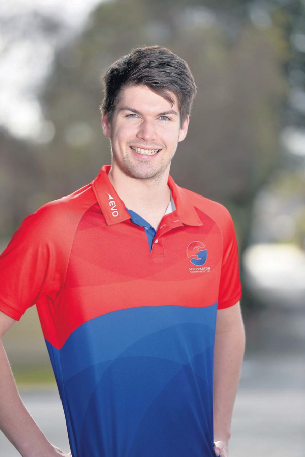 Swift and shift: Shepparton Swimming Club's Brennan Swift has been recognised by Swimming Victoria.