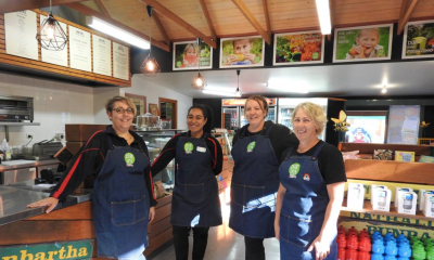 KidsTown's brand new cafe is open for business