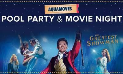 Aquamoves' popular movie night and pool party is back!
