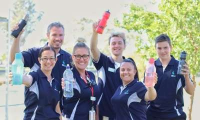 Council facilities take on healthy drink challenge