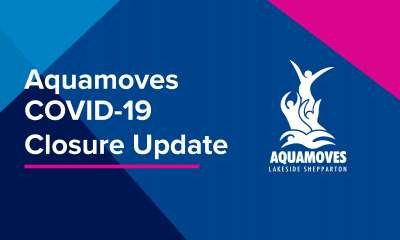 Aquamoves closed until further notice