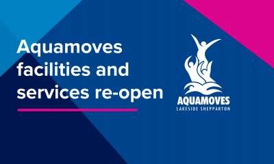 Aquamoves facilities and services are re-opening