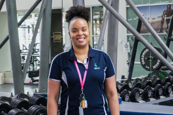 Aquamoves Health and Well-being Work Group Officer - Ariyana Gant Bragge.