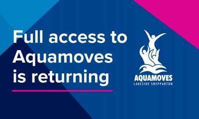 Full access to our facilities is returning!