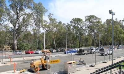 Final car park works delayed