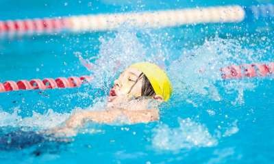 Swimming Carnival Action